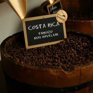Café Costa Rica Tarrazu Max Havelaar en grain ou moulu