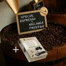 Compatible Nespresso -  Notre sélection de cafés exclusifs + 100 capsules vides Nespresso
