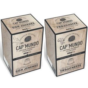 Gamme Cap'Mundo Grand cru pour Nespresso