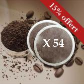 MOCCHA CORSÉ- 54 dosettes souples