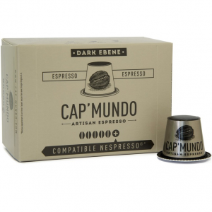 Dark Ebène 50 capsules compatibles Nespresso