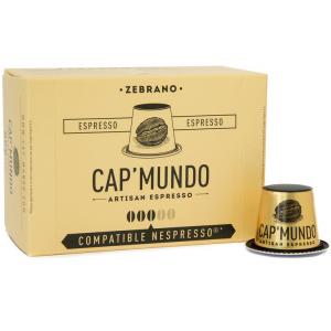 Zebrano 50 capsules compatibles Nespresso