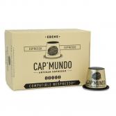 Ebène, 10 capsules compatibles Nespresso